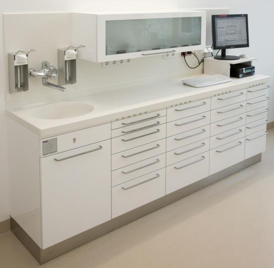 Muebles clinica dental modelo mobiliario clinico color - Muebles para clinicas dentales ...
